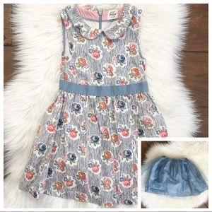 MiniBoden Flower Dress